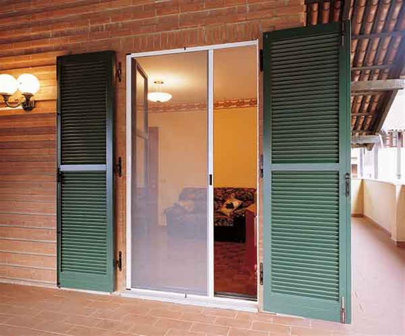 Tende da sole zanzariere for Zanzariera porta finestra